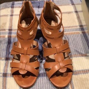 Restricted Shoes - Restricted Light Brown Wedges